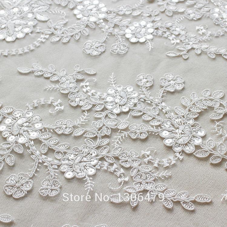 Wedding Dress Lace Decoration Fabric Three Dimensional Flower