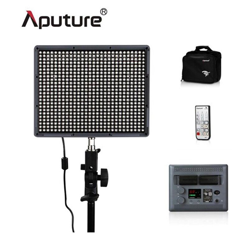 Aputure Amaran HR672C High CRI95+2.4G Wireless 672 3200K-5500K Led Video Light Panel with 2x NP-F970 Batteries & Bag as gift