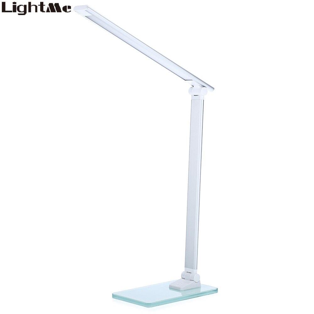 LED Lampe de Bureau Portable Flexible LED Table Lampe 3 Niveaux Luminosité Touch Control Lumière Lampe Pour Chambre Étudier Bureau Éclairage