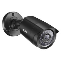 ZOSI 720 P HD-TVI 1280TVL CCTV Güvenlik Kamera, 3.6mm Lens 24 IR Ledler, 65ft Gece Görüş, açık Whetherproof Gözetim Kamera