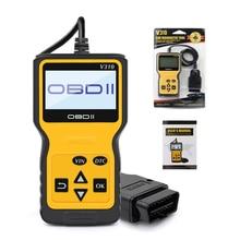 V310 obd leitor de código automático obd2 scanner lançamento do carro verificação instrumentos falha do motor ferramenta diagnóstico scanner carro ferramenta