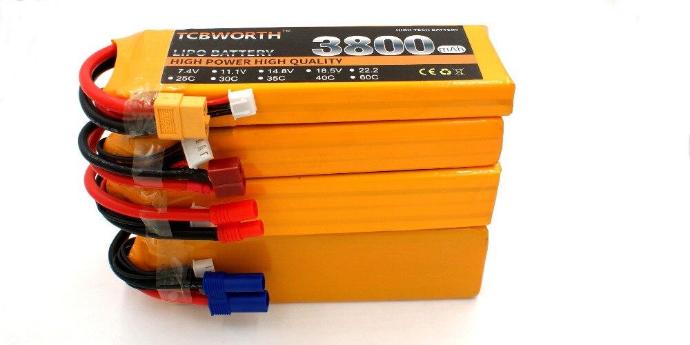 Do Caminhão Do Carro 3800mah 25C RC Li-po bateria-6 s