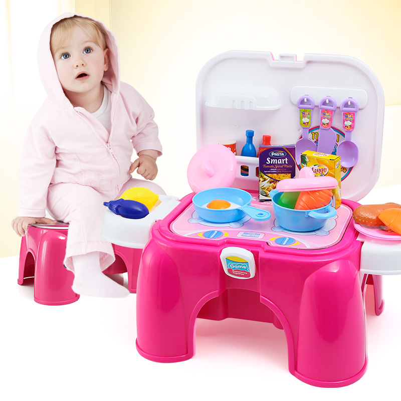 Pinky Girl S Classic Cooking Toys For Children Pretend