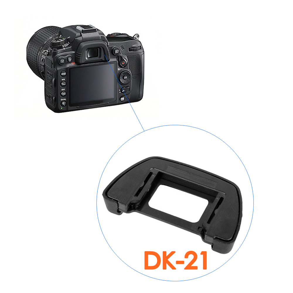 New DK21 Rubber Eye Cup Viewfinder Eyepiece Eyecup For Nikon D90 D600 D300s D750 D7000 D610 D100 D200 D300 D80 D70S D70 D50
