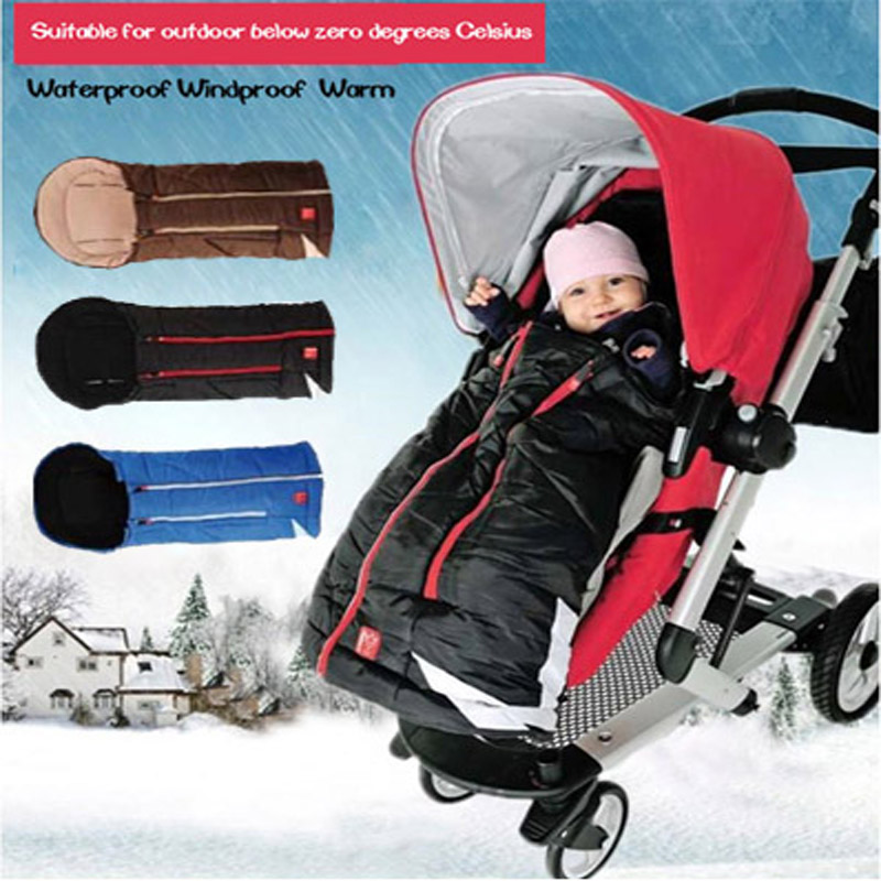 stroller sleeping bag warmly baby stroller footmuff in