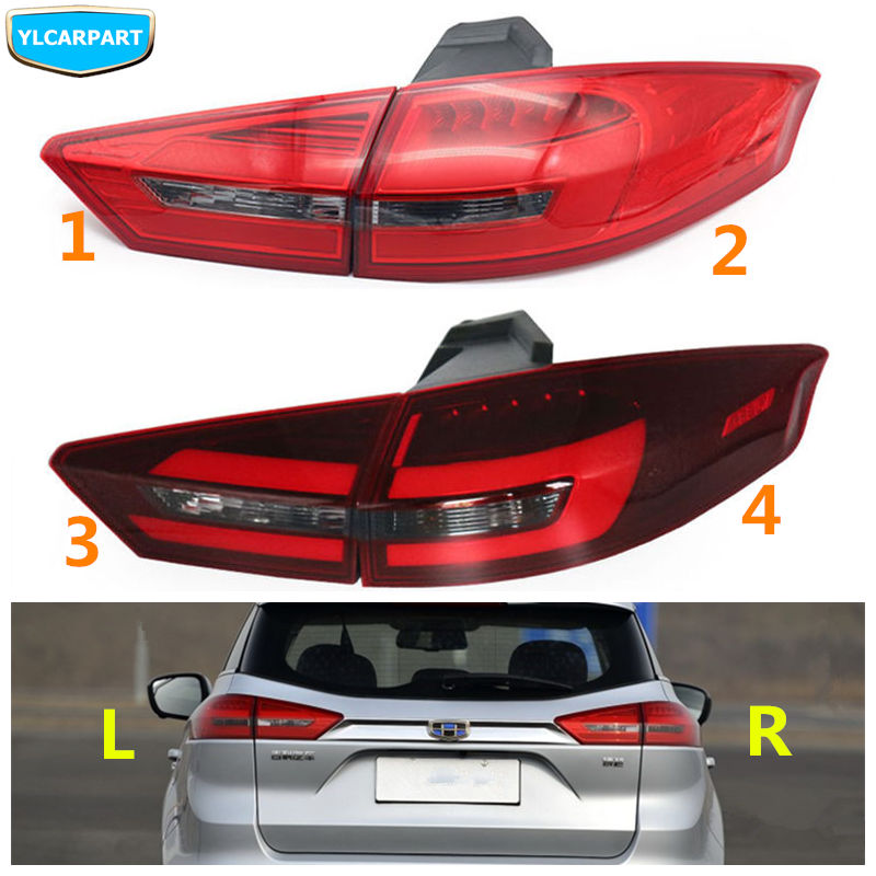For Geely Atlas,Boyue,NL3,SUV,Proton X70,Emgrand X7 Sports,Car rear light taillight assembly