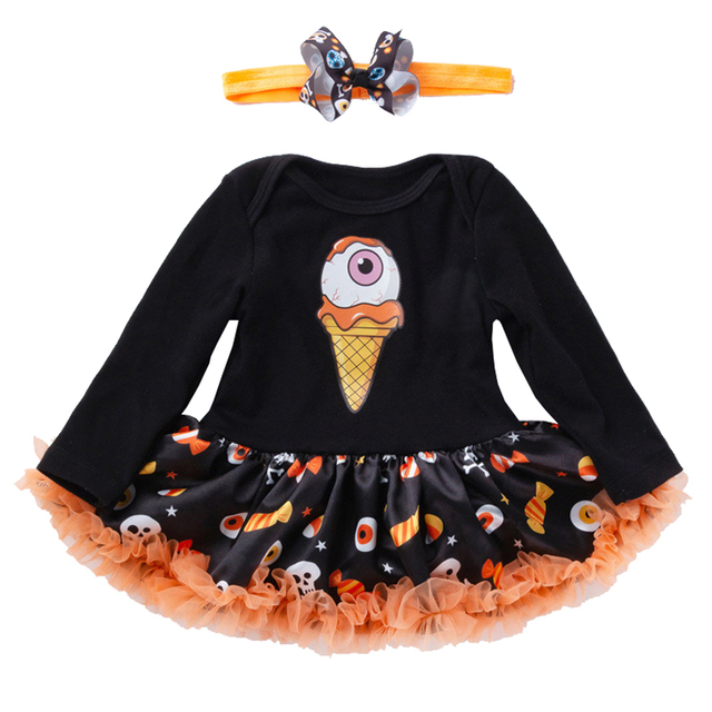 211ee599d New 2018 Halloween Costume for Baby Girl Clothes Lace Petti Romper ...