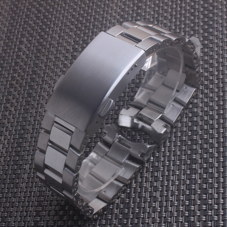 Silver Stainless Steel Strap Band For Tag Heuer Watch Clasp/Buckle 22mm + Pins