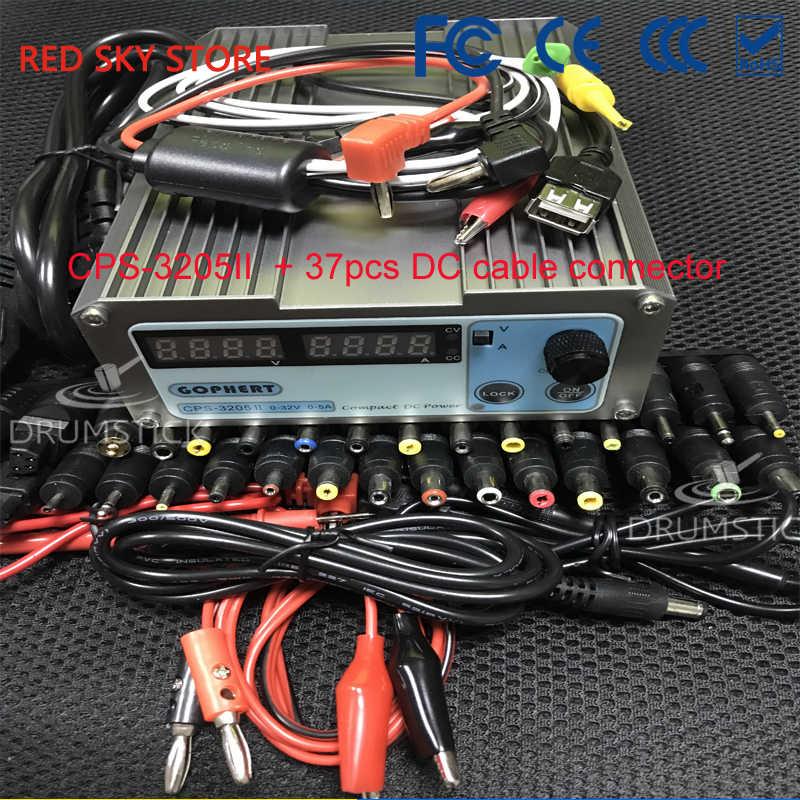 (3,28) Gophert CPS-3205II 160 Вт Мини цифровой источник питания постоянного тока CPS-3205 Регулируемый 0-30 в 5 в 12 В 15 в 24 В 0-5A запираемый 110 В/220 В