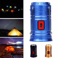 COB LED Portable Emergency Light Sports Lamp Rechargeable Flashlight Camping Lantern Sporting Goods Dorpshipping
