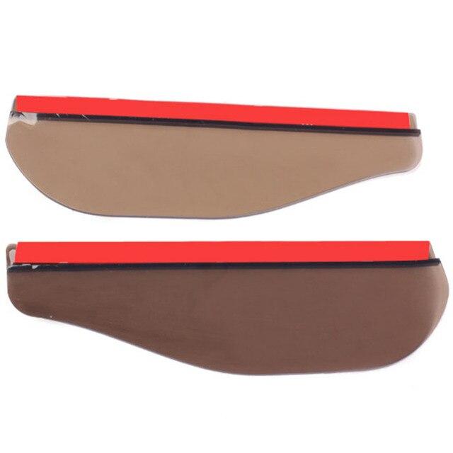 VODOOL 2 шт. автомобиля заднего вида зеркало дождь тени гибкий анти Дождь Защита от солнца тенты крышка высокое качество Автомобильный уплотнитель автомобиль-Стайлинг