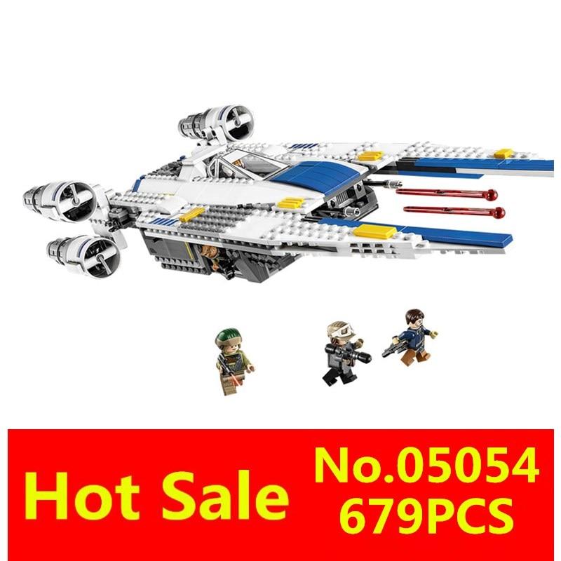 ФОТО LEPIN 05054 679pcs Rogue One: A Star Wars Story The Rebel U-Wing Fighter Set Building Blocks Bricks Toys 75155