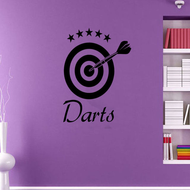target wall decal wall sticker mural scout wall decal shooter