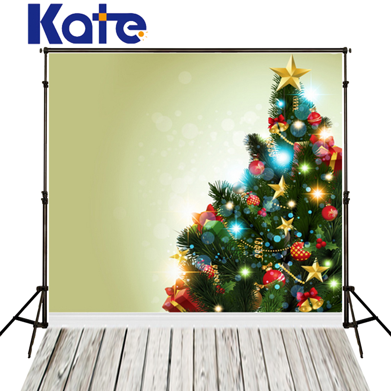Christmas Studio Backgrounds Tree And White Wood Floor Photography Vinyl Backdrops For Fotografia Photos Children Newborn Kate kate photography backdrops newborn baby black and white grid fondo navidad chess board backgrounds for photo studio