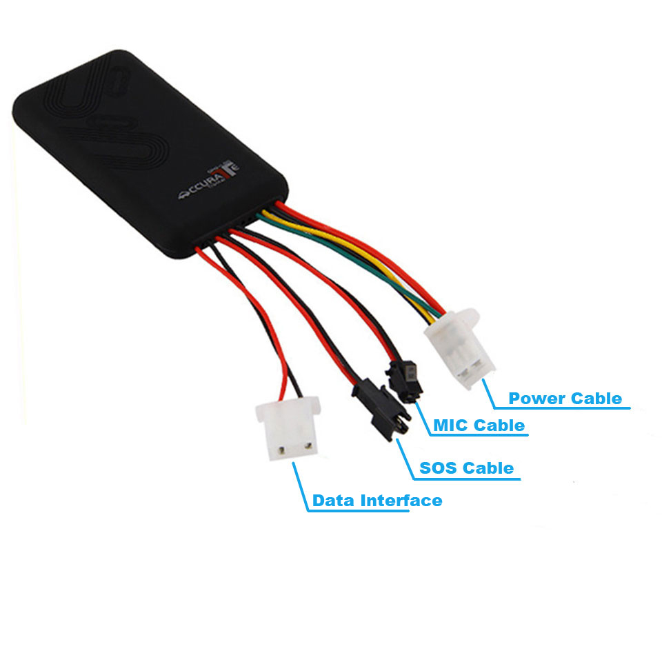 GT06 GPS Tracking Device GSM GPRS SMS Monitor Locator Car GPS Tracker for Automobile Motorcycle D2
