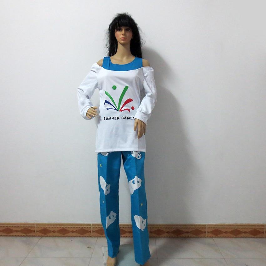 OW Mei jeux d'été chandail CG lever et briller pyjamas polaire ours fête Halloween uniforme Cosplay Costume personnaliser n'importe quelle taille