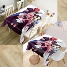 Zero no Tsukaima Tablecloth Waterproof Oxford Fabric Square/Rectangular Tablecloth For Wedding Table Cloth Cover 100X140cm