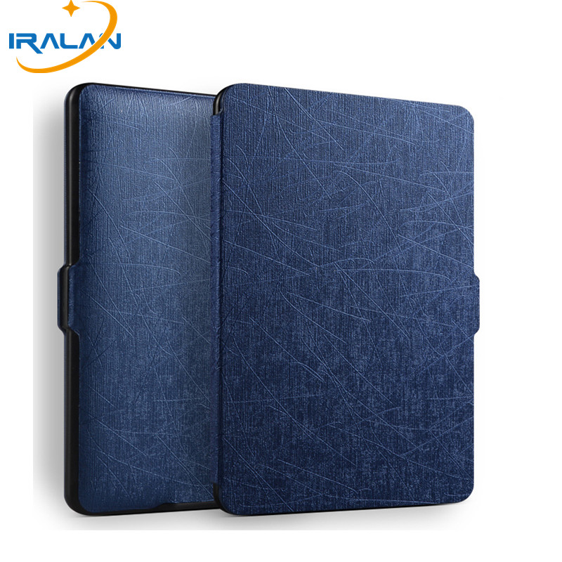 New Ultra Slim Leather Auto Wake/Sleep Smart Case For Amazon Kindle 2016 8 Th Generation E-Book Cover 8 Th Gen 6