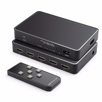 HDMI 2.0 5X1 HDMI SWITCH with Quick Charge 2.0 USB Charge and IR Wireless Remote, Auto EDID, HDMI 2.0, HDCP 2.2