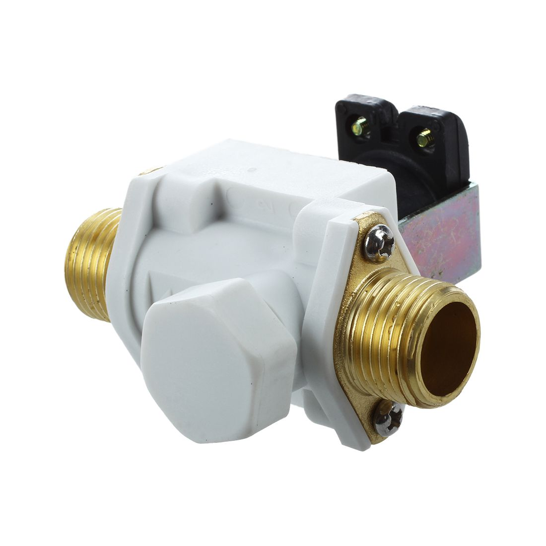1pc DC 12V New Electric Solenoid Valve Magnetic N/C Water Air Inlet Flow Switch 1/2 Induction cooker parts luxury european brass bathroom accessories bath shower towel racks shelf towel bar soap dishes paper holder cloth hooks hardware page 3
