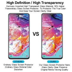 Image 5 - מזג זכוכית עבור Samsung Galaxy A70 מסך מגן 2.5D 9 שעתי מזג זכוכית עבור Samsung A70 SM A705F/DS A7050 מגן סרט