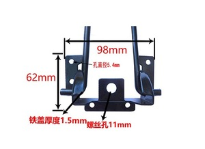 Image 2 - 4Pieces/Lot  Height:310MM  Metal Folding Table Legs Hairpins Laptop Notebook Desk Legs Support Bracket