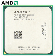 AMD FX Series FX 8300 Socket AM3 + 95W 3.3GHz 940 pin ośmiordzeniowy procesor pulpitu CPU fx8300 socket am3 +