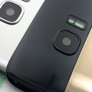 Image 4 - Carcasa trasera para Samsung Galaxy G930F, G935F, G930FD, G935FD, S7 Edge, cristal táctil