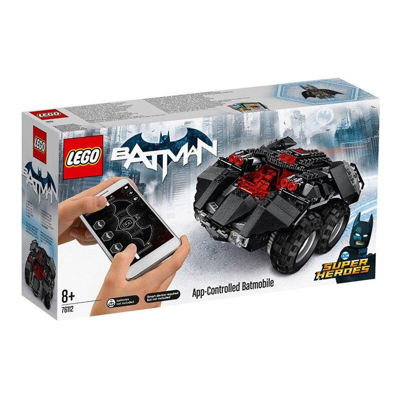 321 pièces Lego 76112 bloc Rc voiture enfants jouets bricolage bloc éducatif Lego technique Rc voiture jouet de construction