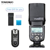 Yongnuo YN 560 III With RF 603 II Single Transmitter for Nikon YN560III Ultra long range Wirelss flash Speedlite RF603 II Trgger