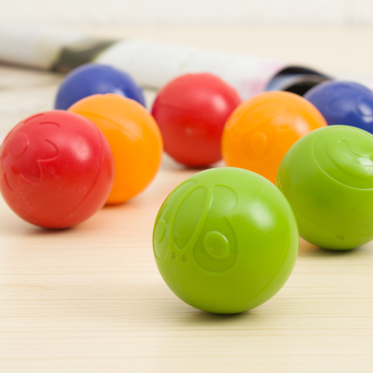 1 piece grasping Rattle ball dragon Bouncing Ball Baby Toys plastic education toy baby skip ball
