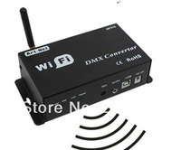2PCS New WiFi Led DMX Controller Controlled by Android or IOS System Wifi Multi Point Wifi DMX Controller