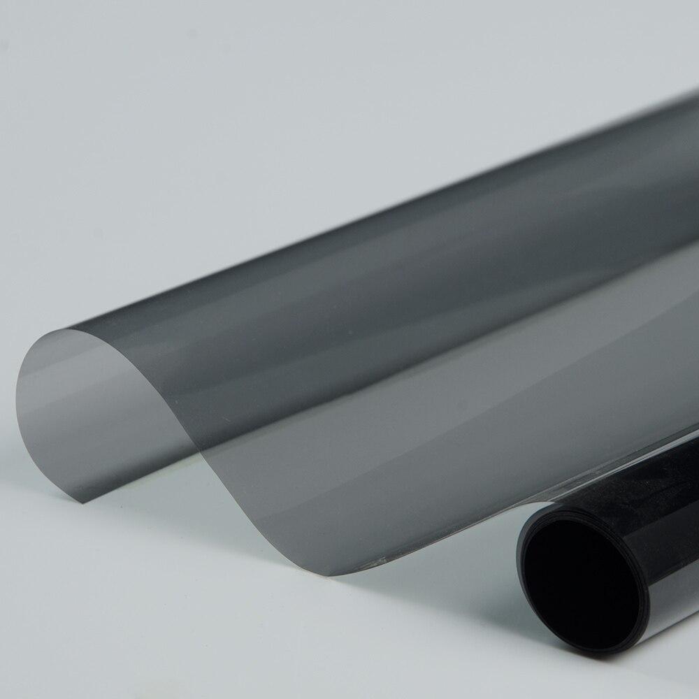 """50% de teintes de céramique La fenêtre noire teinte les films de rejet de chaleur 0.5X5m / 20 """"x16ft"""