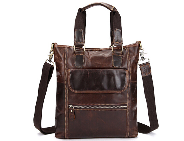 New Genuine Leather Men Bags Male Messenger Bag Men's Briefcase Man Casual Crossbody Bags Shoulder Handbag #0018 xiyuan genuine leather handbag men messenger bags male briefcase handbags man laptop bags portfolio shoulder crossbody bag brown