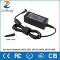 19 В 2.37A 45 Вт AC ноутбук адаптер питания зарядное устройство для Asus Ultrabook UX21 UX31 UX31K UX31E UX32 UX42 3.0 мм * 1.0 мм