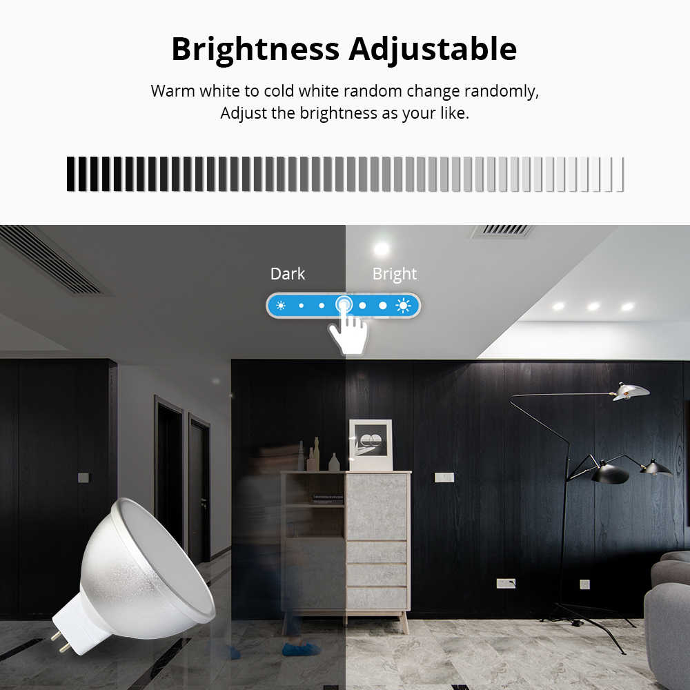 Gu5.3 LED Bulb MR16 12V WiFi Alexa Google Home Assistant IFTTT Tuya Smart Life APP Remote Control RGB LED Light Dimmer Lamp