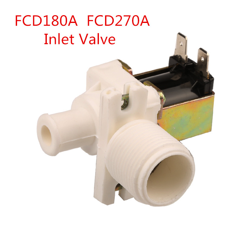 FCD180A FCD270A Washing Machine Water Straight Inlet Valve Solenoid Valve Fittings Full-automatic Washer Switch universal washing machine inlet valve water filter parts single general washer water inlet valve replacement small appliance