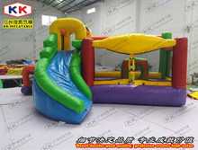 outdoor inflatable toys inflatable bouncer with slide for children and school