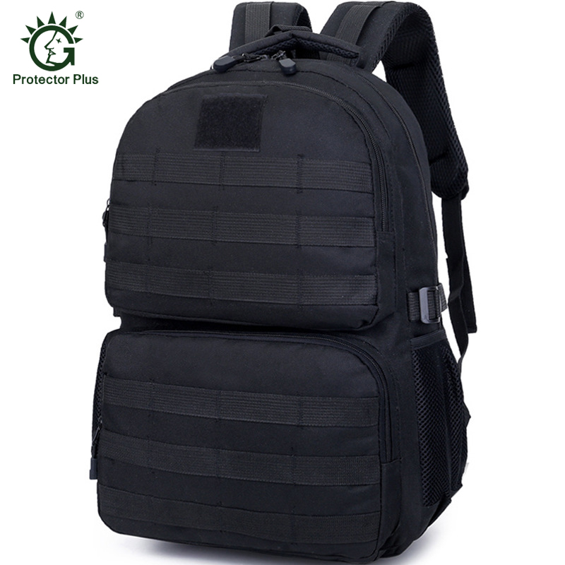 Outdoor Jungle Survival Backpacks Tactical Backpack MOLLE Assault Pack for Camping Hiking Hunting Travelling Nylon Bag lqarmy 3 day expandable backpack with waist pack large rucksack tactical backpack molle assault bag for day hiking tan