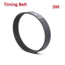 HTD 5M Black Rubber Closed Loop Timing Belt Synchronous Belt Length 410 415 420 425 430 435 440mm Wideth 15 20 25mm