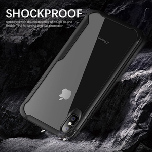 Image 2 - Heyytle Shockproof Armor Case For iPhone 7 8 Plus 6 6s Transparent Cover For iPhone X XS MAX XR Soft TPU Cases Drop proof Coque