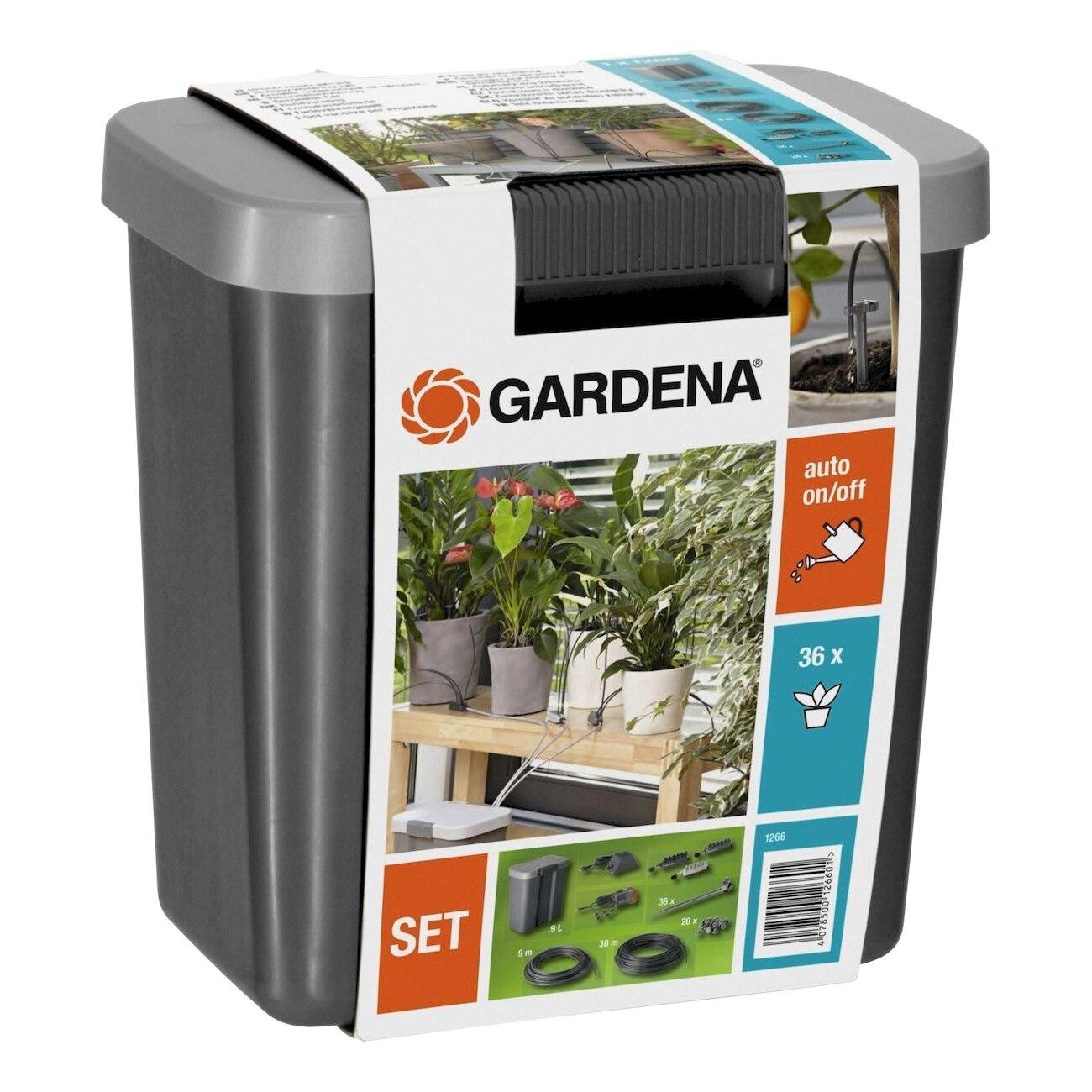 Set поливочный GARDENA 01266-20.000.00 (For watering to 36 potted plants, swivel) стоимость
