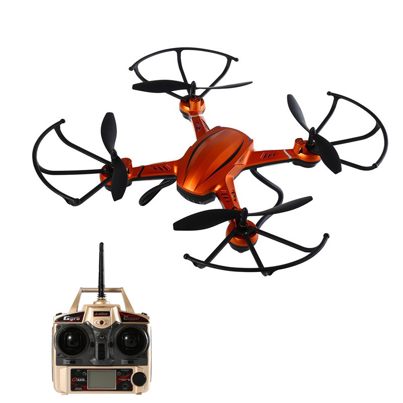 JJRC RC Helicopter 2.4G 4CH 6 Axis Gyro RC Quadcopter RTF Air Press Altitude Hold with LCD HD Camera RC Drone Dron Hover Copters