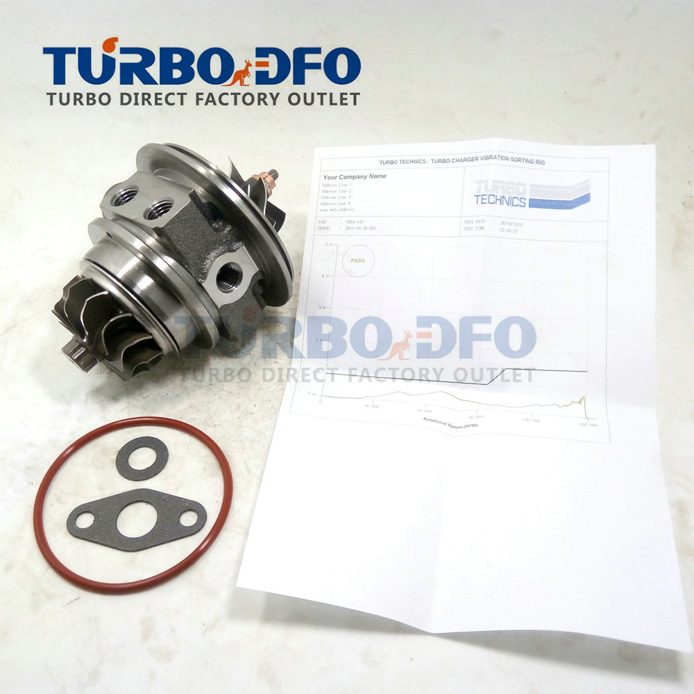 Balanced turbocharger core assy CHRA 49377-06202 / 49377-06212 for Volvo-PKW XC70 XC90 2.5 T 210 HP - Cartridge turbo 30650634