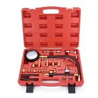 Professional Vehicle Fuel Injection Pressure Gauge Meter Manometer Engine oil pressure tester gauge diagnostic test kit for Car