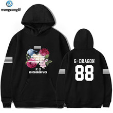 BIGBANG Big Bang Bangtan Hoodie Kpop Korea Harajuku Hoodie Sweatshirt Moletom Feminino Fashion Merek Jaket Mantel Plus Ukuran 4XL(China)