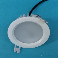 Free Shipping 10W 12W 15W IP65 Dimmable Led Recessed Down Light Warm White White Cold White