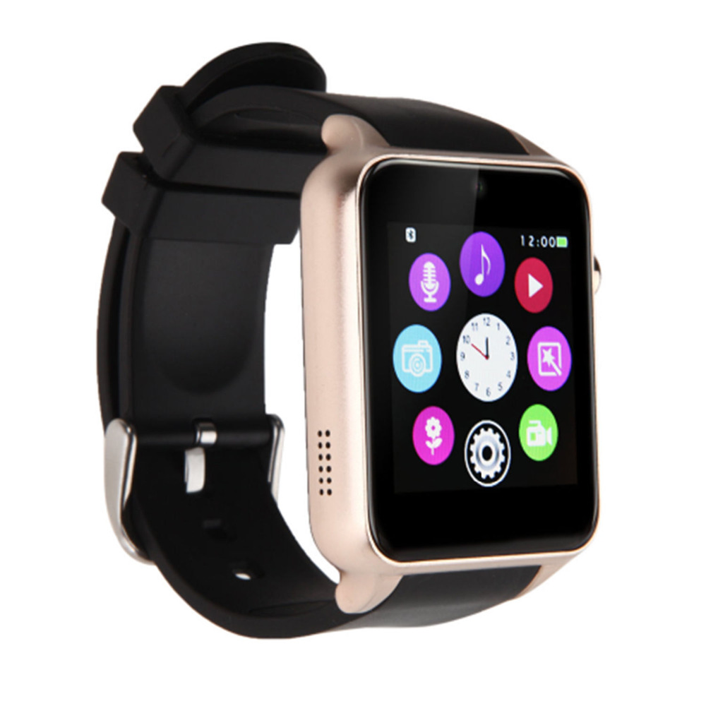 New GT88 Bluetooth Smart Watch Waterproof Heart Rate Monitor Smartwatch for IOS Android System Smartphone Support