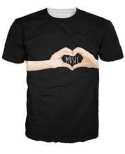 """""""I Love Music"""" women shirt / girlie"""