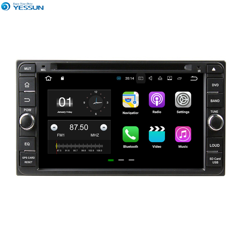 YESSUN Android For Toyota RAV4/Vios 2006~2010 Car Navigation GPS Audio Video Stereo HD Touch Screen Multimedia Player.